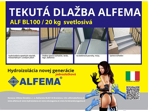 ALF BL100 / 20kg svetlo šedá