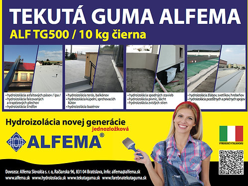 ALF TG500 / 10 kg čierna