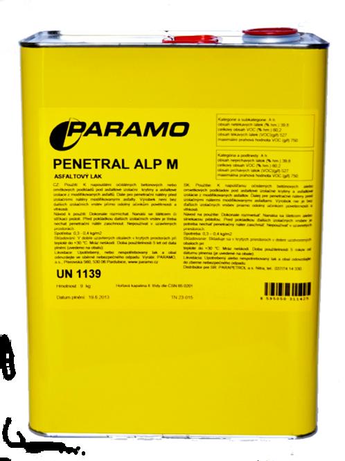 Paramo Penetral ALP M 9kg