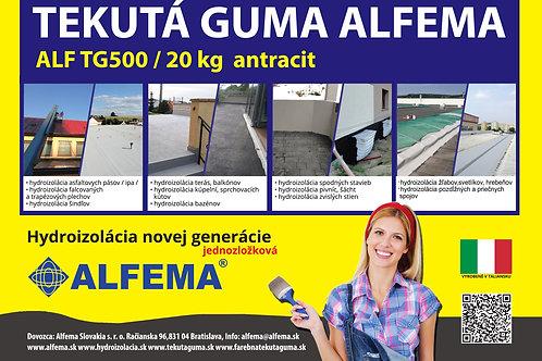 ALF TG500 / 20 kg antracit