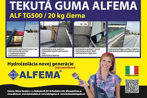 ALF TG500 / 20 kg čierna