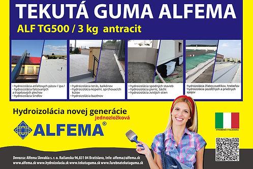 ALF TG500 / 3 kg antracit