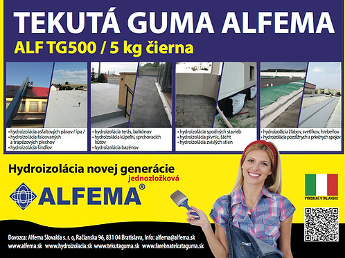 ALF TG500 / 5 kg čierna