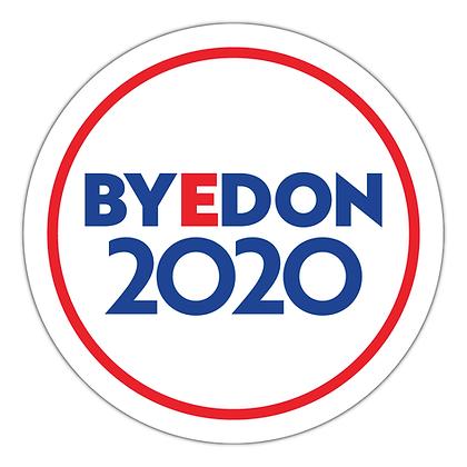 BYEDON 2020 Mike Luckovich Horizontal Logo Sticker