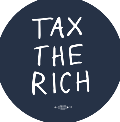 Tax the Rich Sticker