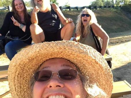 Having Fun at Sky River Rock Festival
