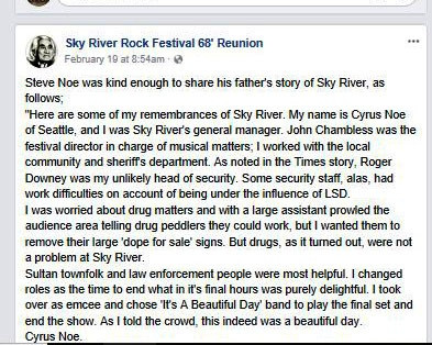Steve Noe Talked About SRRF and His Father