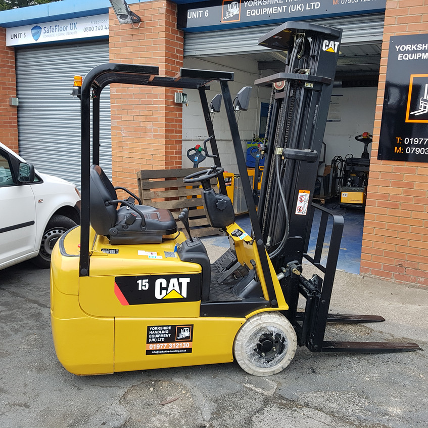 Cat EP15KRT ready to go!
