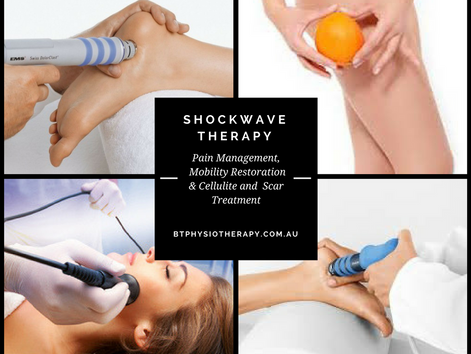Fantastic results through Shockwave Therapy - review from our client on FB