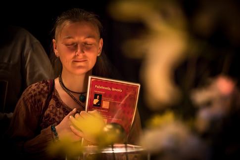 Výstava tibetských relikvií