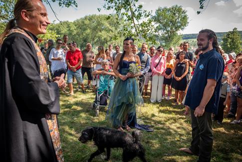Peťa  & Matouš - velká svatba u Berounky