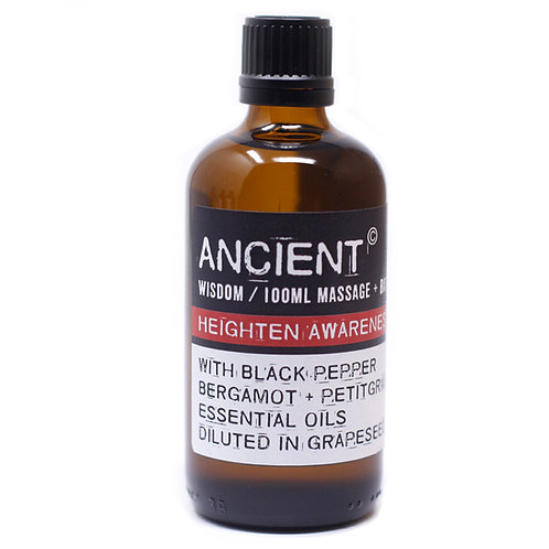 Heighten Awareness Massage & Bath Oil 100ml