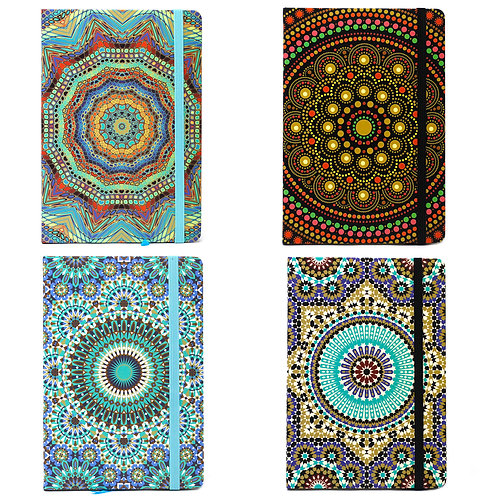 MANDALA Notebooks A5