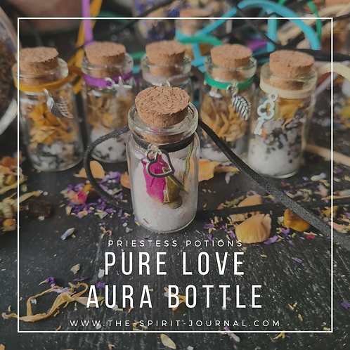 PURE LOVE AURA BOTTLE - For Self-Love & Protection