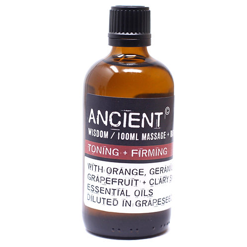 Toning + Firming Massage Oil 100ml