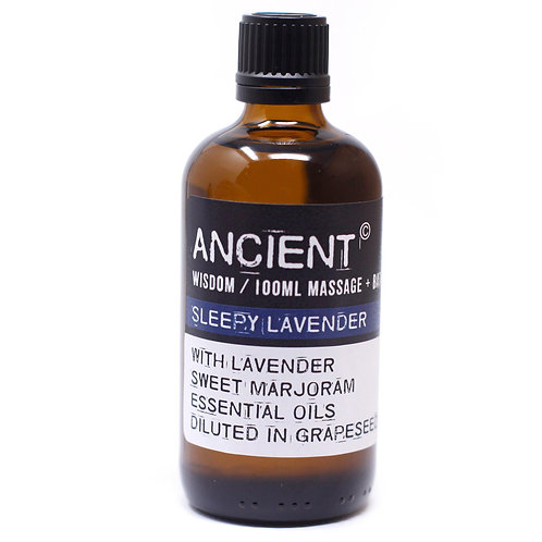 Sleepy Lavender Massage & Bath Oil 100ml