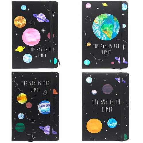 THE SKY IS THE LIMIT  Notebooks A5