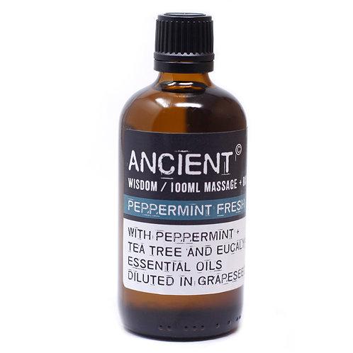Peppermint Fresh Massage & Bath Oil 100ml