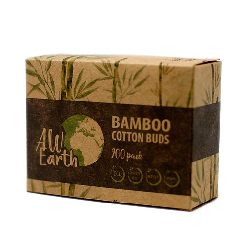 Bamboo Cotton Buds (200)