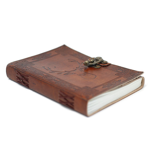 "Leather STAG Notebook (6x8"")"