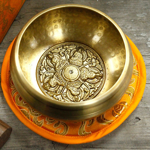 Five Buddha Singing Bowl Set 10cm (min 400gm)