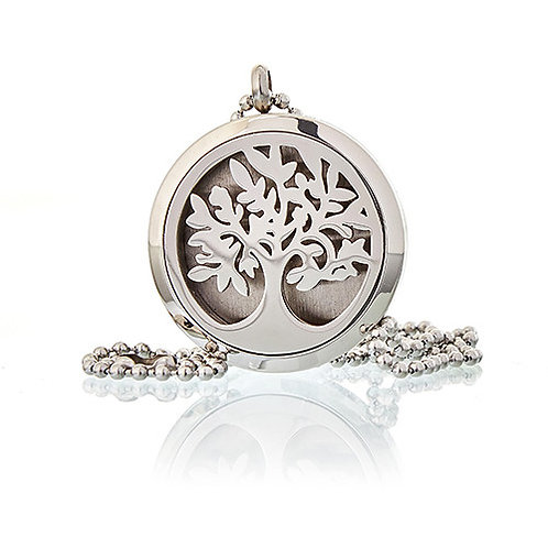 Aromatherapy Diffuser Necklace -TREE OF LIFE