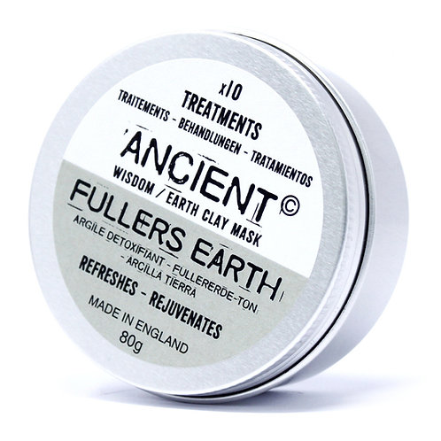 Fullers Earth Clay Face Mask 80g