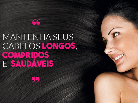 Como manter os cabelos longos e bonitos