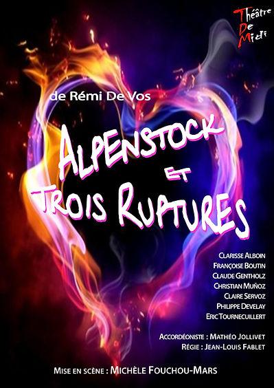 Alpenstock et trois ruptures