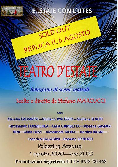 Locandina Teatro estate 2020 CON REPLICA