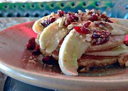 pancakes & banana
