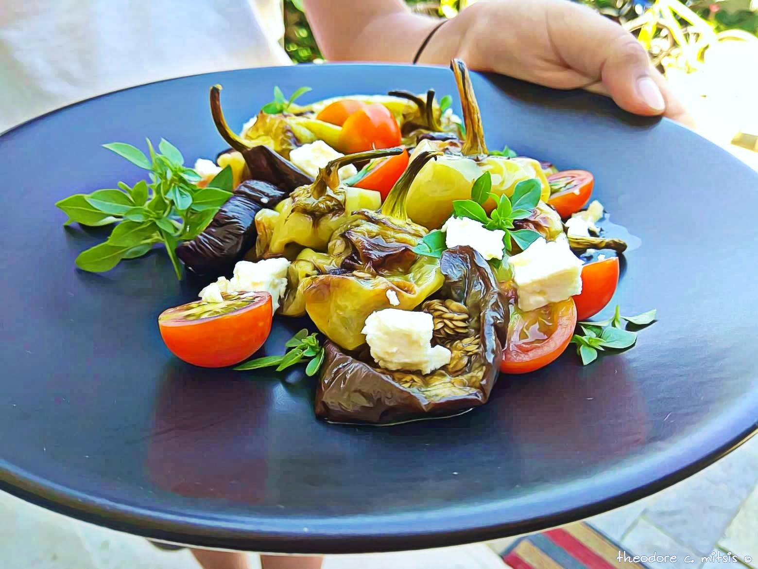 eggplant & cheese