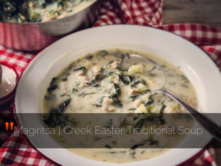 Magiritsa - Greek Easter Traditional Soup