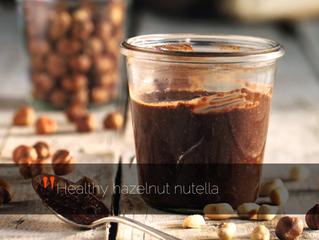 Healthy hazelnut nutella (Vegan + Gf)