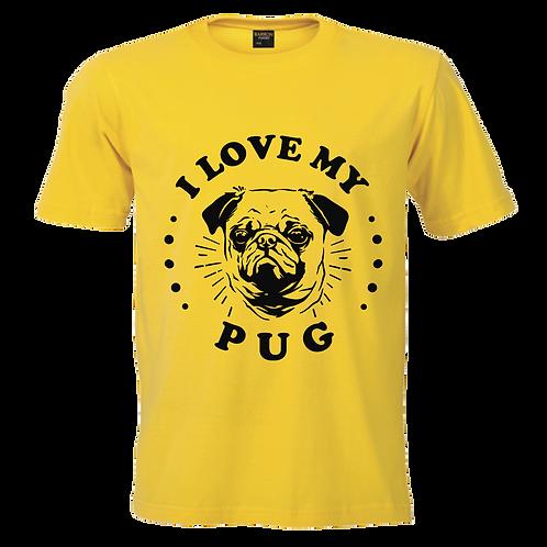 I Love My Pug Tee