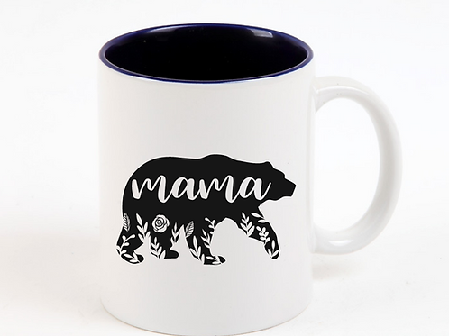 Floral Mama Bear