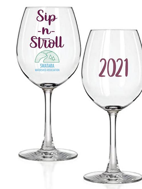 2021 Swatara Sip & Stroll Event Wine Glass