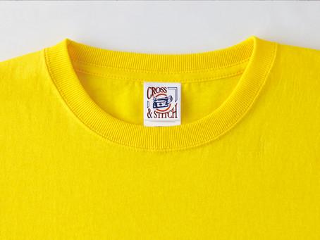 Tシャツ襟の仕様について