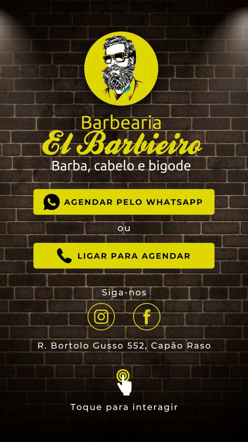 Cartão Digital Barbearia
