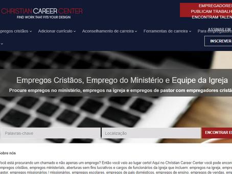 Site de busca de empregos cristão.