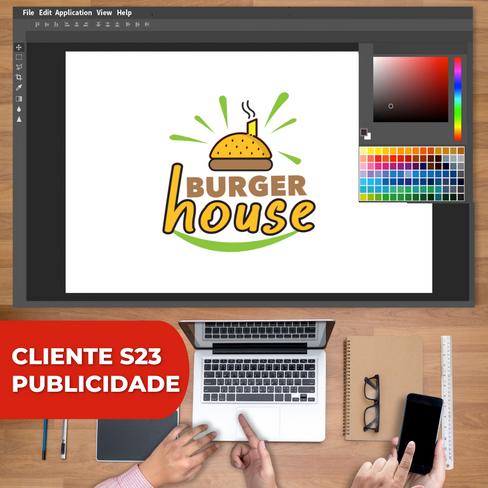 Logo Burger House