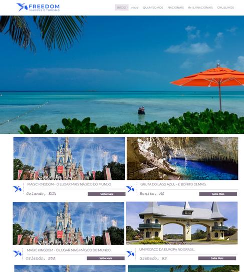 Web Site Freedom Turismo
