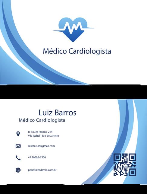 Cartão de Visitas Dr. Luiz Barros