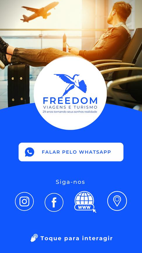 Cartão Digital Freedom Turismo