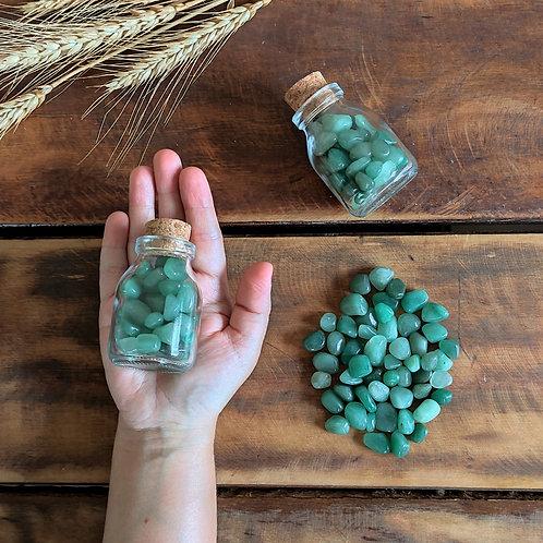Garrafinha com Quartzo Verde