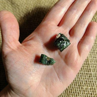 Turmalina Verde Bruta Mini