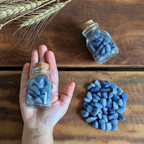 Garrafinha com Quartzo Azul