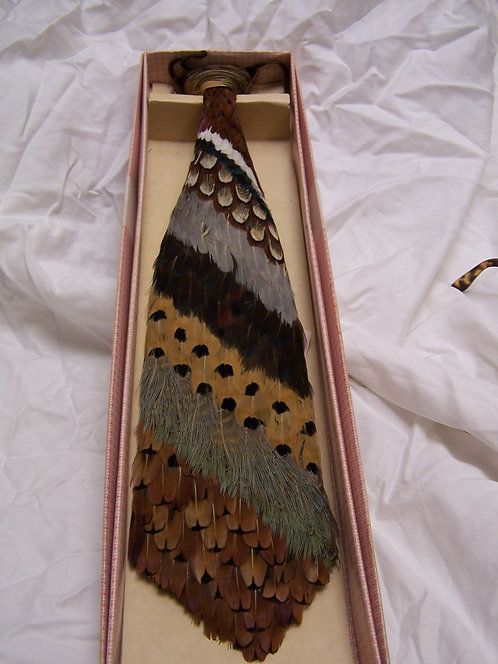 Pheasant Feather Tie