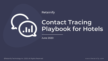 Contact Tracing Playbook For Hotels