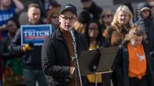 Hundreds rally for gun control